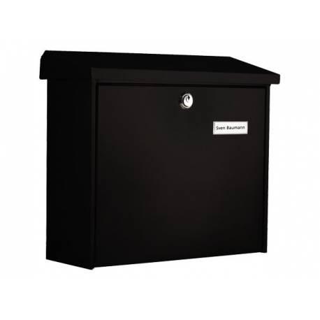 Пощенска кутия Comfort 913, неръждаема стомана, черна