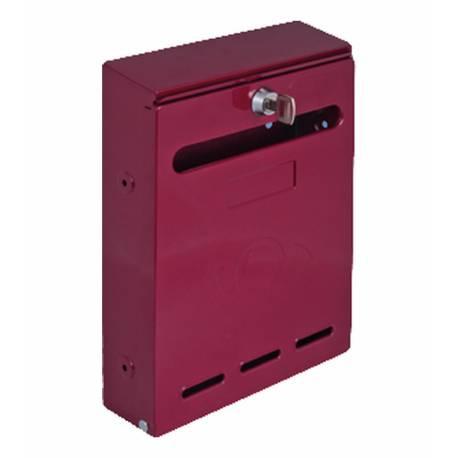 Пощенска кутия, червена