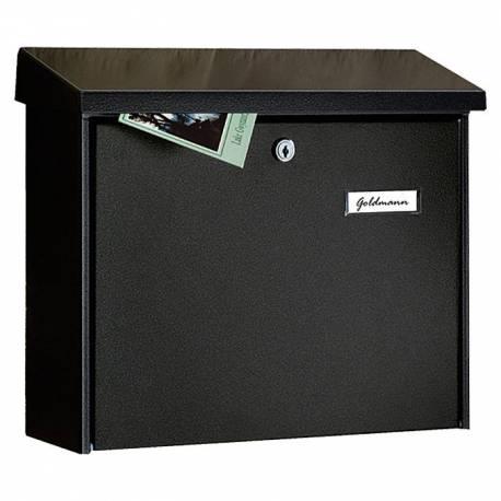Пощенска кутия PM 55, поцинкована, черна