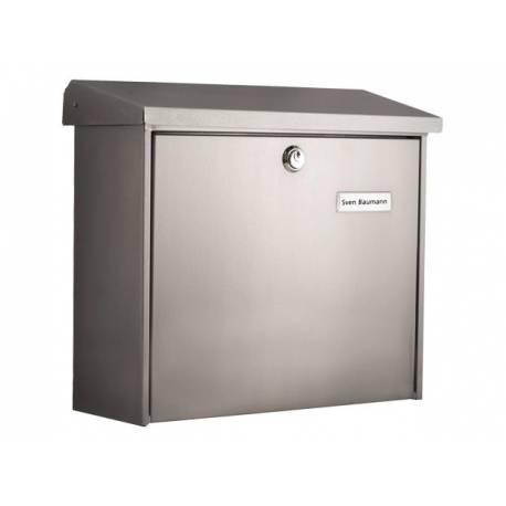 Пощенска кутия Comfort 913, неръждаема стомана, поцинкована