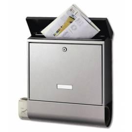 Пощенска кутия Nordland, неръждаема стомана 425x115x380 мм