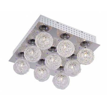 LED плафон - дистанционно, сменящи се цветове