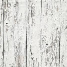 Imagén: Тапет, дърво рустикал бяло