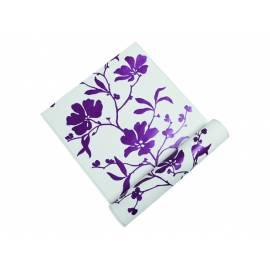 Флис тапет Wonderful, лилави цветя