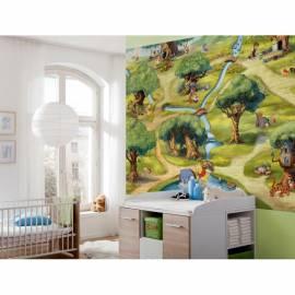 Фототапет Winnie the pooh, 4 части, 254х184 см