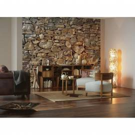 Imagén: Фототапет Stone wall, 8 части, 368x254 см