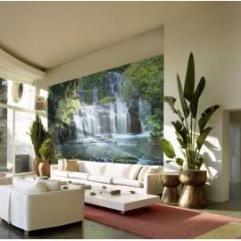 Imagén: Фототапет, Pura Kaun Ui Falls, 8 части, 368х254 см