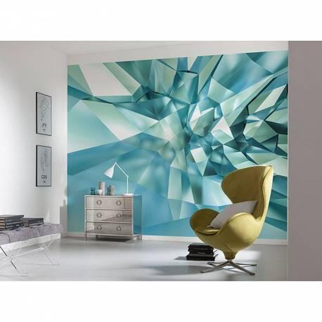 Фототапет 3D Crystal Cave, 368x254 см