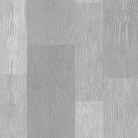 Флис тапет, дървесен декор, сив