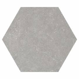 Гранитогрес Traffic Grey, хексагонал, 25x22 см