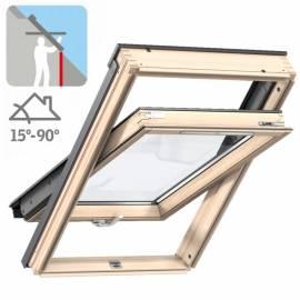 Imagén: Покривен прозорец Стандарт Плюс - долно управление, троен стъклопакет - 6 размера