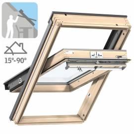 Imagén: Покривен прозорец Стандарт Плюс - горно управление, троен стъклопакет - 13 размера