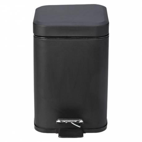 Кофа с педал Quadra, 3 л, черна
