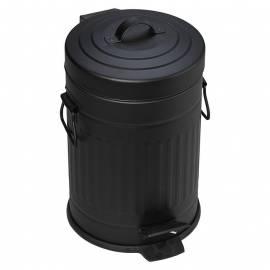 Кофа с педал Tonne, 3 л, черна