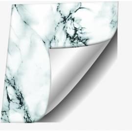 Самозалепващо фолио, черно-бял мрамор, 90х210 см