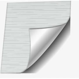 Самозалепващо фолио, бели ленти, 45х200 см