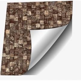 Самозалепващо фолио, кафява мозайка, 67,5х200 см