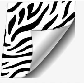 Самозалепващо фолио, черно-бяло, 45х200 см