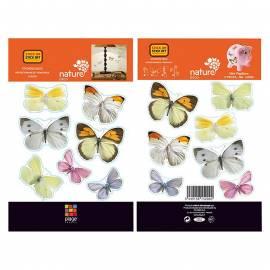 Декоративен стикер пеперуди, 11x10,5 см, 2 части
