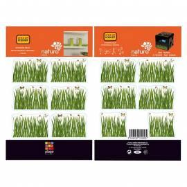 Декоративен стикер трева, 11x10,5 см, 2 части