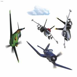 Декоративен стикер Komar Planes, 9 части, 31х31 см