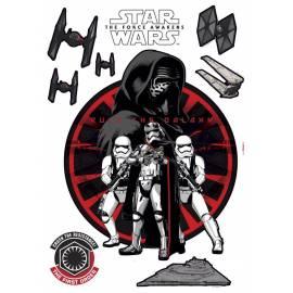 Декоративен стикер Komar Stars Wars - First Order, 9 части, 50х70 см