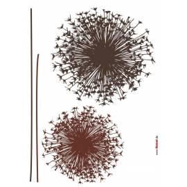 Декоративен стикер Pusteblume, 4 части, 50х70 см