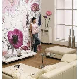 Декоративен стикер Komar Fiore, 5 части, 50х70 см