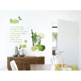 Декоративен стикер Mojito, 15 части, 100х70 см
