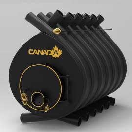 Печка на дърва Canada 00 - със стъкло и защита - до 100 куб.м