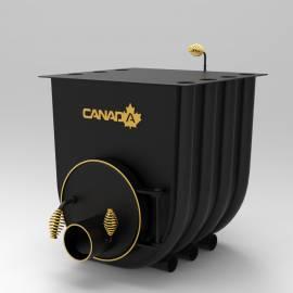 Imagén: Печка на дърва Canada 03 classic, за отопление и готвене - до 875 куб.м