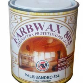Farbwax 803 - лак за дърво с восък- цвят палисандър