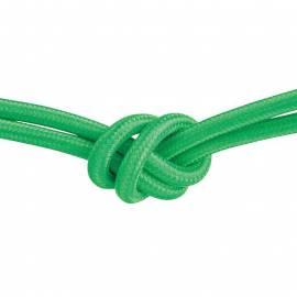 Текстилен кабел, зелен, 3x0,75 мм²