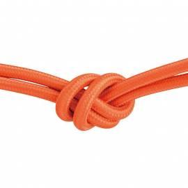 Текстилен кабел, оранжев, 3x0,75 мм²