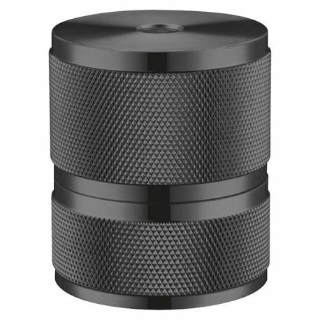 Фасонка Metal, черна, E27