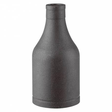 Фасонка Metall, черна, E27