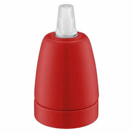 Фасонка Posh, червена, E27