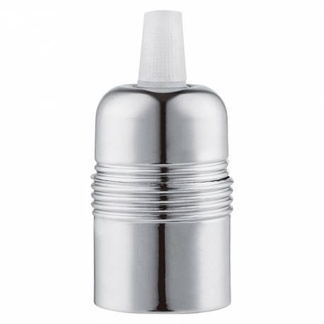 Фасонка Shine, сребриста, E27