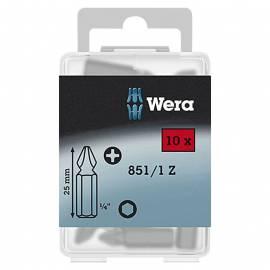 Комплект битове Wera Bit-Box 851/1, PH 2, 10 броя