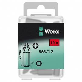 Комплект битове Wera Bit-Box 855/1, PZ 2, 10 броя