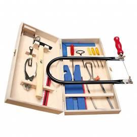 Комплект дърводелски инструменти, 18 части