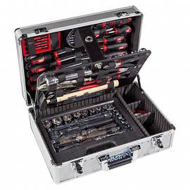 Куфар/ органайзер с инструменти, Alpha Tools, 119 части