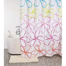 Текстилна завеса за баня Calendula, 200x240 см