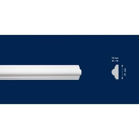 Перваз за стена -CW 10 - 2м / 25мм