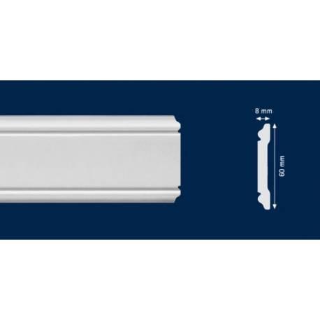 Перваз за стена -CW 12 - 2м / 60мм