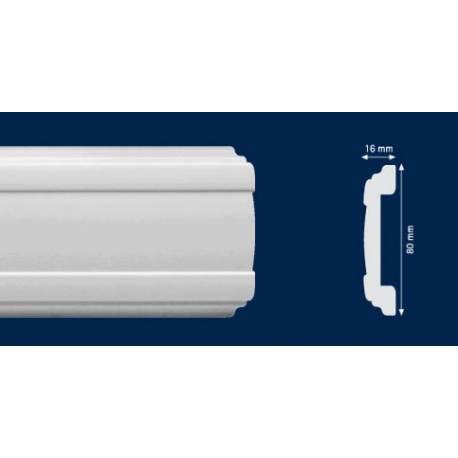 Перваз за стена -CW 13 - 2м / 80мм