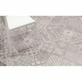 Imagén: Декор Keros Beton Acero - 60х60 см, сив