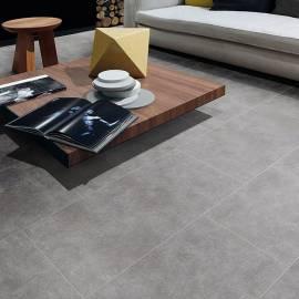 Гранитогрес Beton Grigio, сив, 45,7x91,5 см