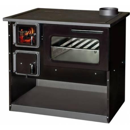 Готварска печка Огняна - черен емайл