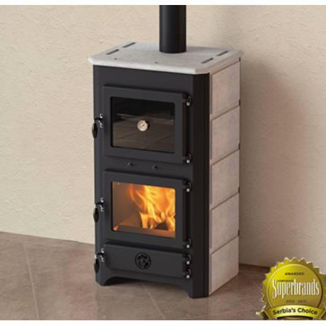 Готварска  печка на твърдо гориво Thermo Vulkan PLUS 24 KW